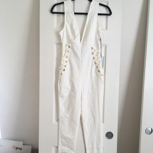 Brand new Iris white Jumpsuit